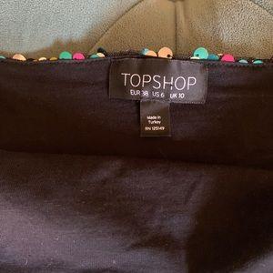 Topshop Tops - Topshop Rainbow Sequin Bodysuit
